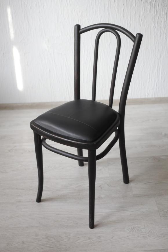 венский стул, дуб, кожа, начало 20 в