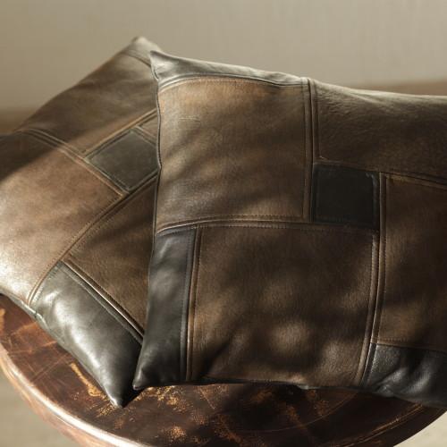 подушки, кожа