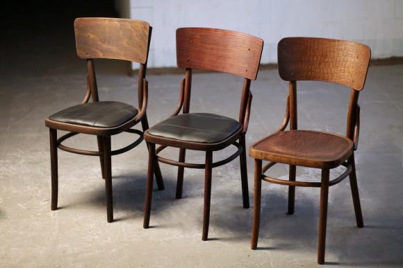 стулья 20-30 годы 20 в, дуб, кожа