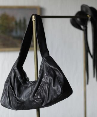 сумка-гармошка, кожа